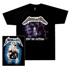 Pánské tričko Metallica - Ride The Lightning