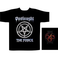 Pánské tričko se skupinou Onslaught - The Force