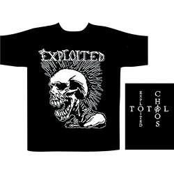 Pánské tričko se skupinou The Exploited - Mohican Skull