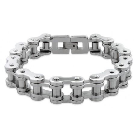 Náramek z chirurgické oceli - Motorový řetěz