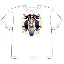 Dětské tričko s motivem těla - Motorkář