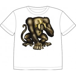 Dětské tričko s motivem těla - Opice