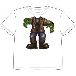 Dětské tričko s motivem těla - Zombie
