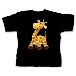 Dětské tričko s potiskem zvířat - Žirafa