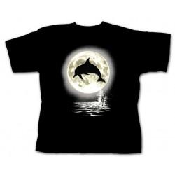 Dětské tričko s potiskem zvířat - Delfín