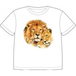 Dětské tričko s potiskem zvířat - Lvi