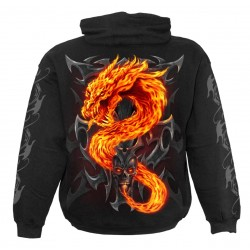 Dětská mikina Spiral Direct - Fire Dragon