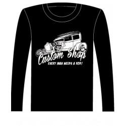 Pánské tričko s dlouhým rukávem - Custom Shop